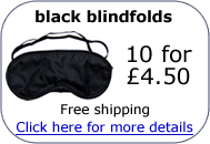 buy black blindfolds