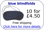 buy blue blindfolds
